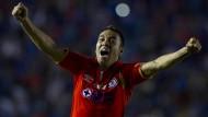 Kickt erstmals nicht mehr in der Heimat: Fabián soll das Spiel der Eintracht beleben.