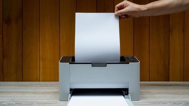 Den passenden Drucker finden