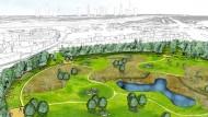 Stadt plant Bürgerpark mit Picknickwiesen