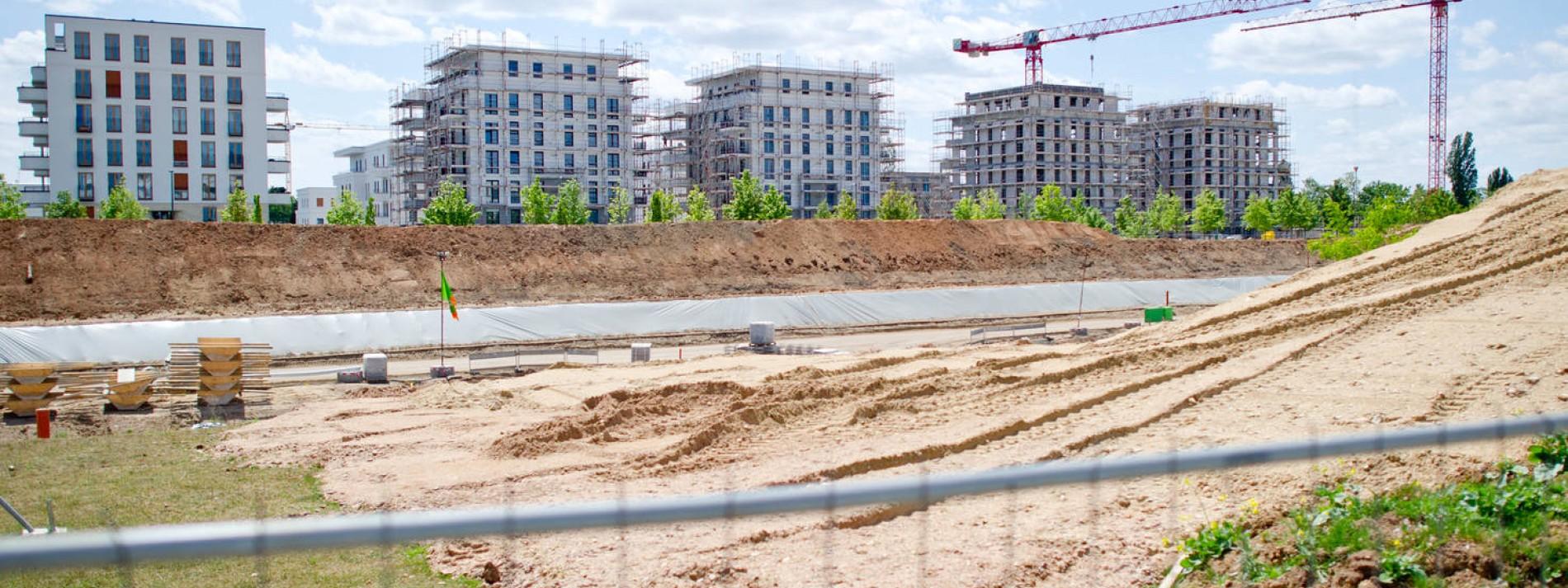 Hunderte Wohnungen mehr im Europaviertel