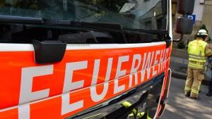 Großbrand in Kasseler Lagerhalle