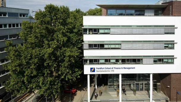 Frankfurt School prüft Fusion mit Berliner Hochschule