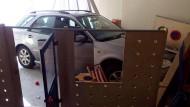 86-jährige kracht mit Auto in Kindergarten