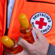 Die Risikogruppe schützen: Das Deutsche Rote Kreuz testet Bewohner in Betreuungseinrichtungen (Symbolbild).