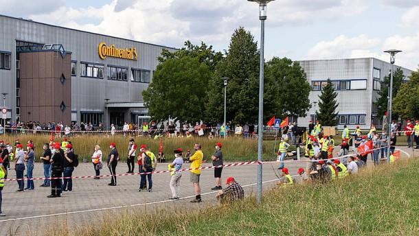 Continental-Beschäftigte wollen protestieren