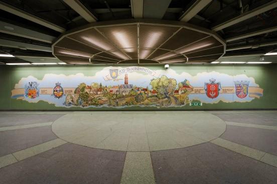 Mosaik Frankfurt bilderstrecke zu frankfurter u bahn stationen lichtblicke unter