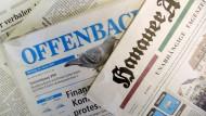 Hanauer Anzeiger will Mantelproduktion aufgeben