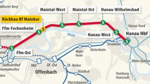 Ein Tunnel und zwei neue Bahnhöfe