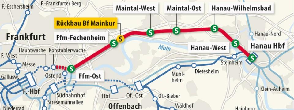 Frankfurt Ein Tunnel und zwei neue Bahnhfe