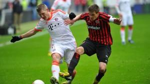 Erstes Heimspiel gegen die Bayern