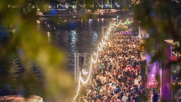 2,3 Millionen Besucher beim Museumsuferfest