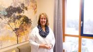 """""""Breaking bad news"""": Palliativmedizinerin Christiane Gog überbringt schlechte Nachrichten. Um das zu können, braucht sie das Vertrauen der Patienten."""