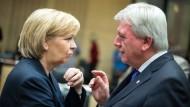 Bouffier: Bund soll Hälfte der Flüchtlingskosten tragen