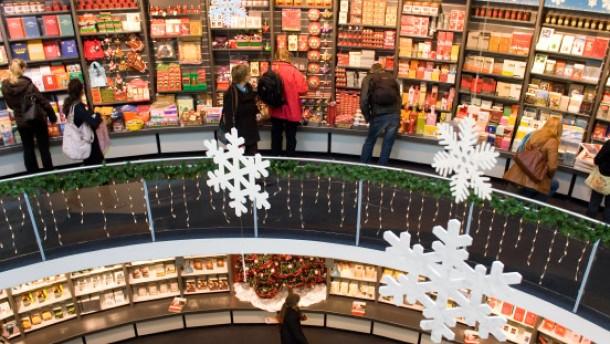 Weihnachtsgeschäft floriert trotz Krise