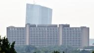 Auf Augenhöhe mit dem EZB-Turm