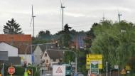 Zuwachs: Rund um Frankfurt sollen weitere Windräder hinzukommen - diese stehen unweit von Nieder-Erlenbach