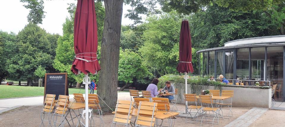 Huthpark Frankfurt Cafe