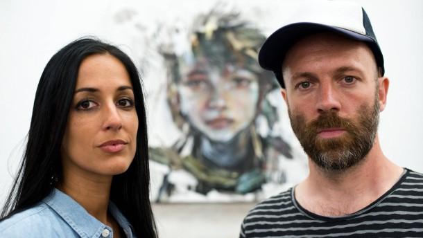 dpa Wie Geschwister: Jasmin Saddiqui (Hera) und Falk Lehmann (Akut) - wie-geschwister-jasmin