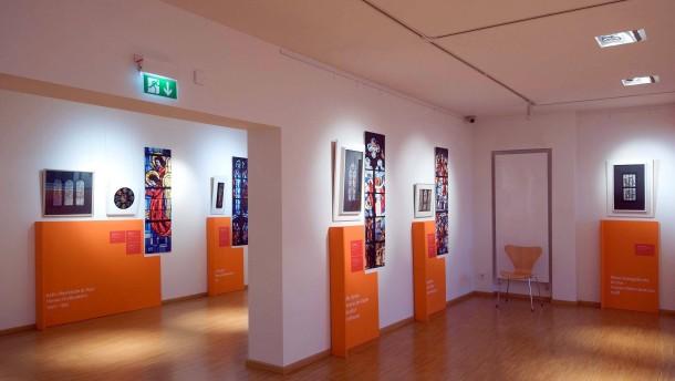 August Peukert - Ausstellung seiner Werke im öffentlichen Raum zum 100. Geburtstag des Hanauer Künstlers im Museum Großauheim.