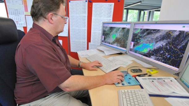 Mit Hightech-Rechnern dem Wetter einen Schritt voraus