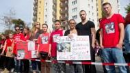 Protest gegen tödliche Schüsse auf Hunde