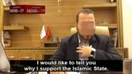 """""""Ich möchte Euch sagen, warum ich den Islamischen Staat unterstütze."""" – ein Dokotrand der Technischen Universität Darmstadt in einem Propaganda-Video."""