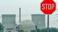 Ablehnung: Hessen wehrt sich bisher gegen ein Zwischenlager für Atommüll in Biblis