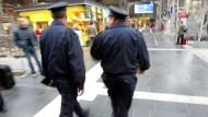 Auf Streife: Die Bundespolizisten am Frankfurter Hauptbahnhof sind einiges gewohnt
