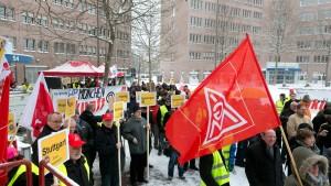 Ringen um Hewlett-Packard in Rüsselsheim beginnt