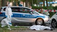 Tatort U-Bahnstation: Hier hatte Ahmet C. den 36 Jahre alten Ahmet K. im Sommer erstochen.