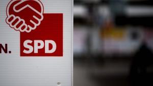 Händeschütteln mit der SPD