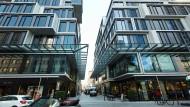 Eine neue Adresse: Das Geschäftshaus Maro lenkt die Blicke in die Neue Rothofstraße.