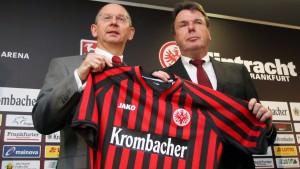 Krombacher wird Hauptsponsor bei Eintracht Frankfurt
