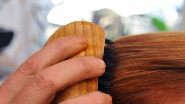 Haarbürste statt Handy?