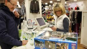 Mindestlohn im Einzelhandel ist eine Frage der Zeit