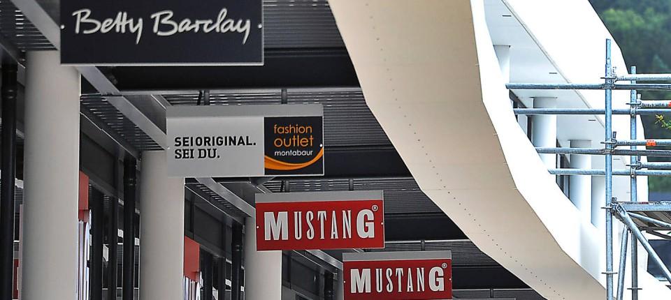Verkauf im neuen Factory Outlet Montabaur beginnt