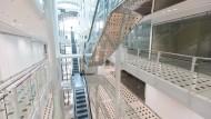 Das Geisterhaus: Ein Besuch in der Zeilgalerie ist in diesen Tagen ein besonderes Erlebnis. Ein weitgehend leerstehendes Einkaufszentrum – wann bekommt man das je zu sehen?