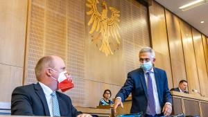 Frankfurter Politik prüft Notbetrieb