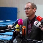 Berichtet täglich neue Corona-Zahlen aus Hessen: Sozialminister Kai Klose (Die Grünen)