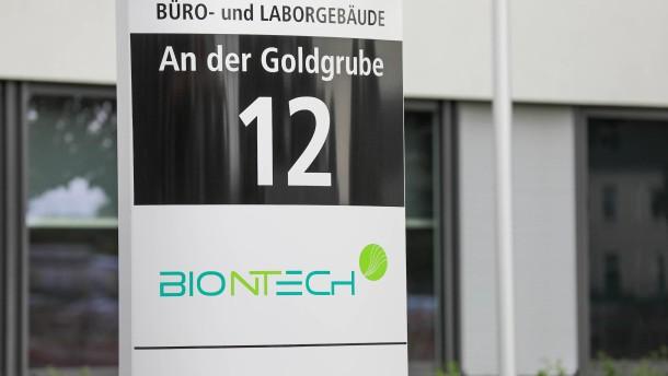 Millionenförderung für Biontech