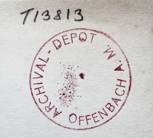 Bild zu offenbach archival depot wo liegt jetzt ihre for Depot offenbach