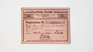 Niemand war zum Eintritt in die NSDAP gezwungen