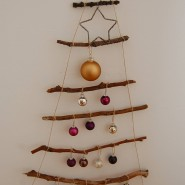 Upcycling: Mit Ästen vom ausgedienten Christbaum kann ein Weihnachtsbaum für immer gemacht werden