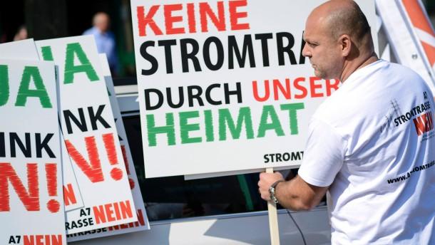 Nordhessische Bürgermeister gegen Suedlink