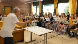Anspruchsvolles Singen in fremder Sprache