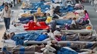 Leere Erstaufnahmelager bleiben für den Notfall