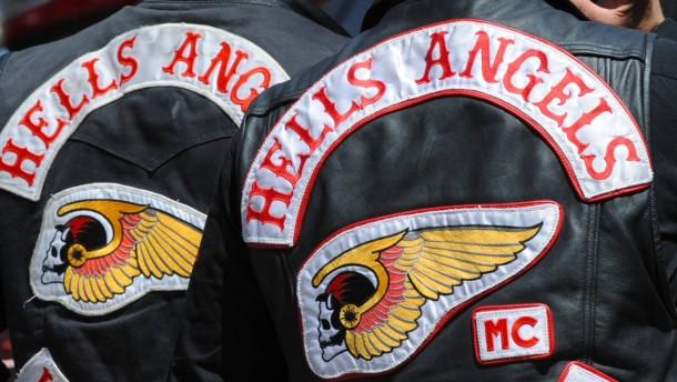 Hells Angels-Trauerzug mit 350 Fahrzeugen