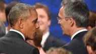 Die Nato rüstet auf, rhetorisch aber ab