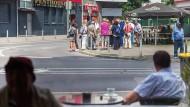 Überwacht: Im Frankfurter Allerheiligenviertel will die Polizei fest installierte Videokameras sehen