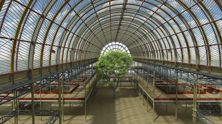 Beeindruckende Leichtigkeit: Den Londoner Kristallpalast gibt es nicht mehr, erlebbar ist er dennoch.